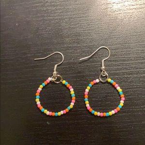 Sweet Candy Beaded Earrings